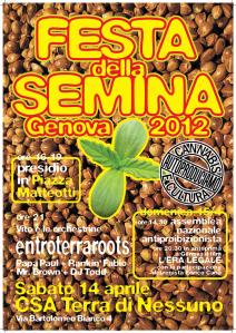 festa della semina genova 2013